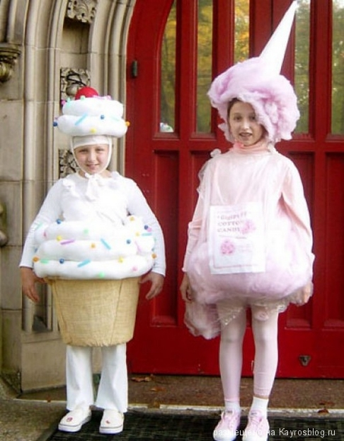 Оригинальные костюмы для детей на новый год