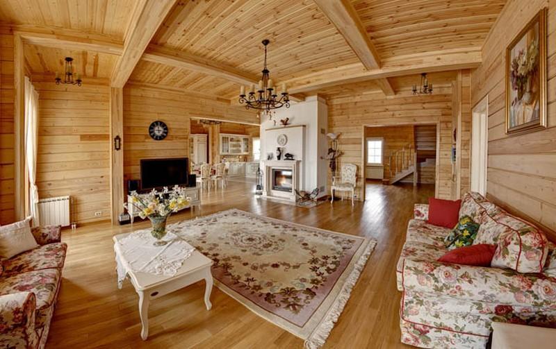фото дома в русском стиле
