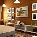 интерьера деревянного дома и особенности декорирования 11