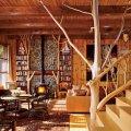 интерьера деревянного дома и особенности декорирования 17