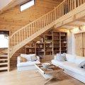 интерьера деревянного дома и особенности декорирования 18