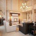интерьера деревянного дома и особенности декорирования 3