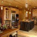 интерьера деревянного дома и особенности декорирования 7