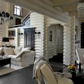 интерьера деревянного дома и особенности декорирования 8