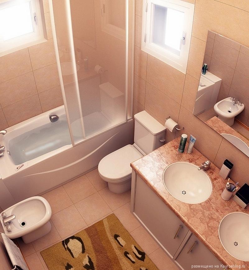 Дизайн совмещенной ванной комнаты - стоит ли соединять ванную комнату и туалет