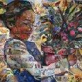 Фантастические фрески на стену от Lewis Lavoie