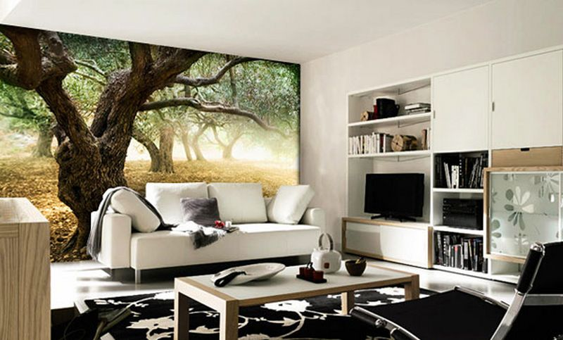 Дизайн интерьера стен фото