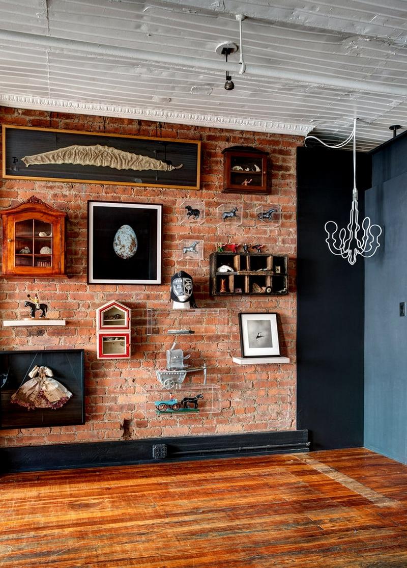 Декор интерьера лофт