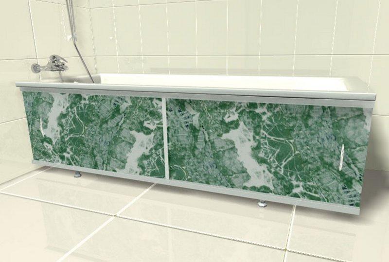 Боковая панель для ванной своими руками 96