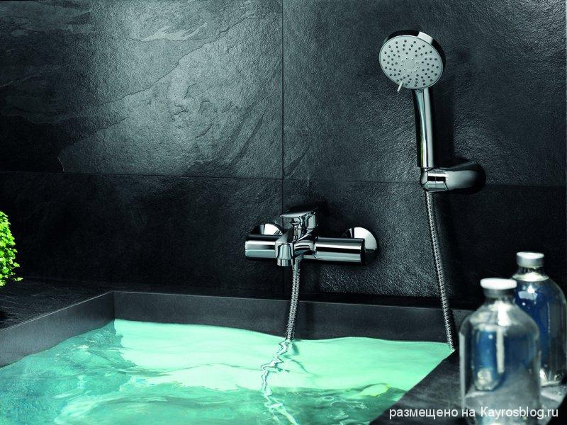Смесители для ванной комнаты фото