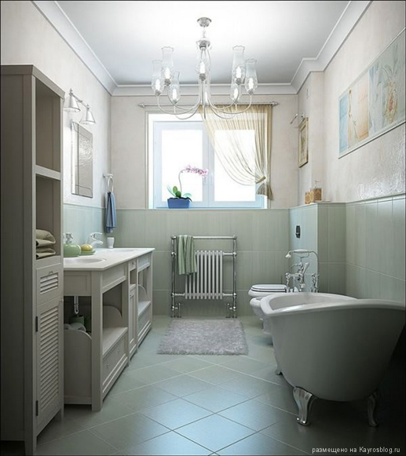 Дизайн ванной комнаты 2017-2018 7 квадратных метров