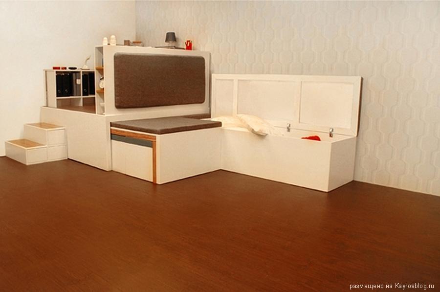 X-otlex Компактная мебель, которая впишется в любой.