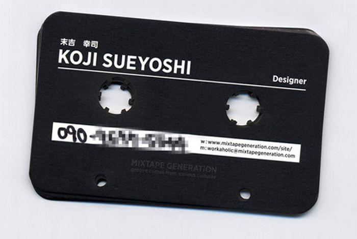 Креативные идеи для визиток