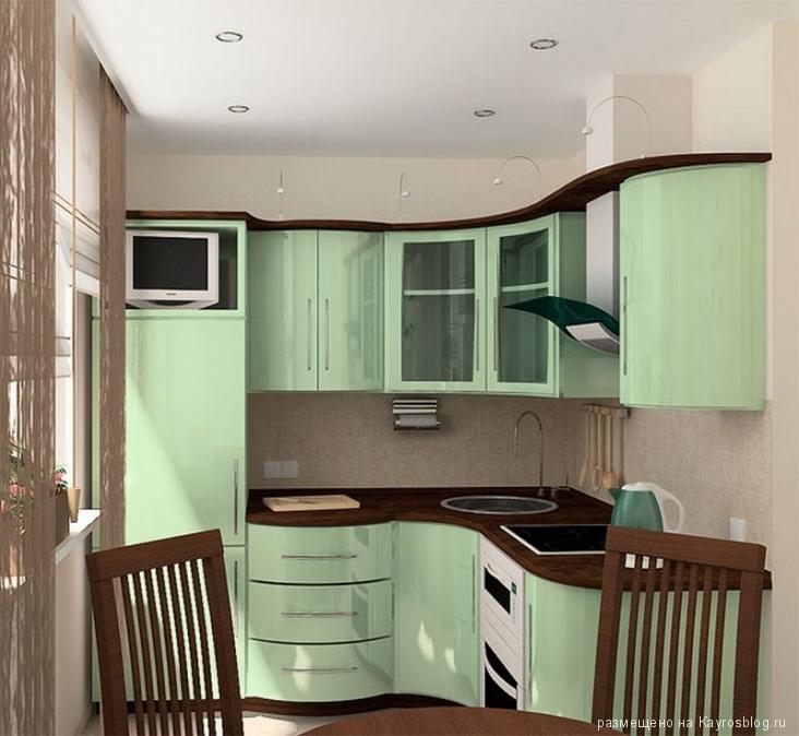 Сделать ремонт в кухне  фото 133