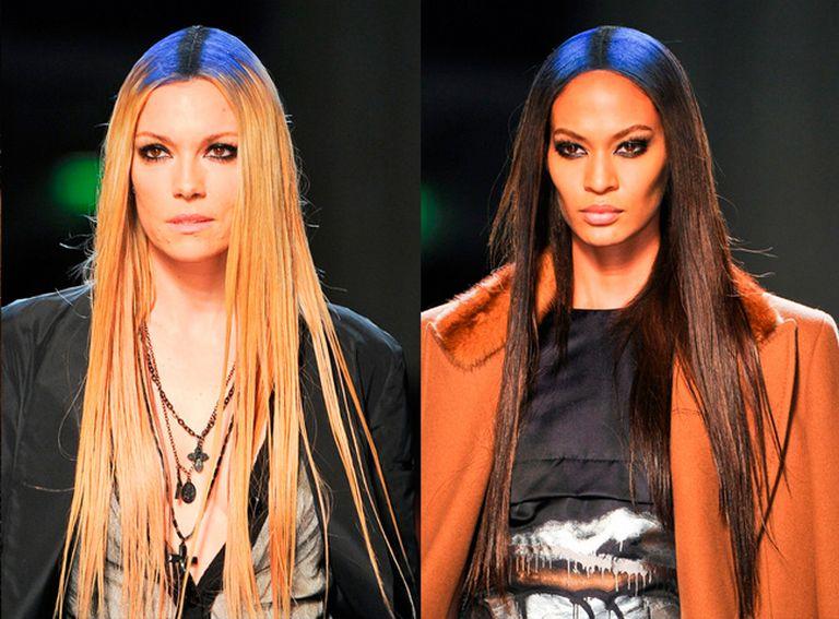 модные прически с прямыми волосами