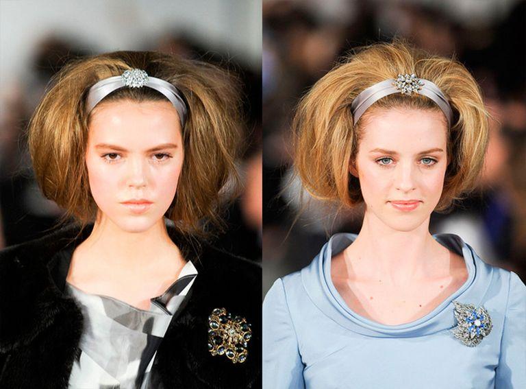 какие модные прически 2012 фото