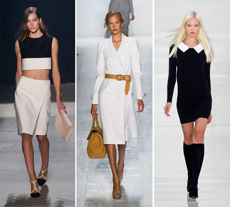 Модные тренды одежды фото