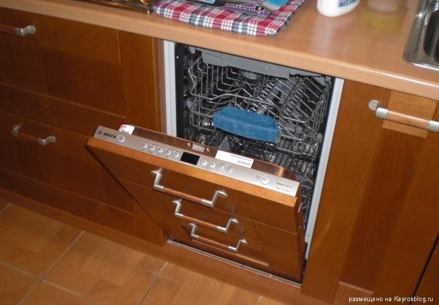 Встраиваемая посудомоечная машина установка своими руками