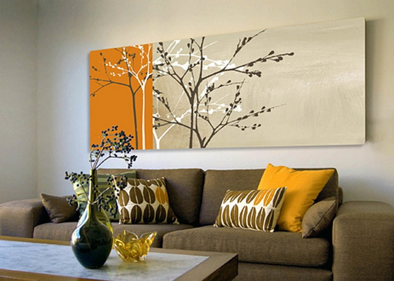 Картина на стену своими руками фото