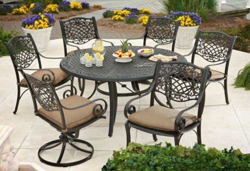 Кованая садовая мебель, преимущества и недостатки, правила в.