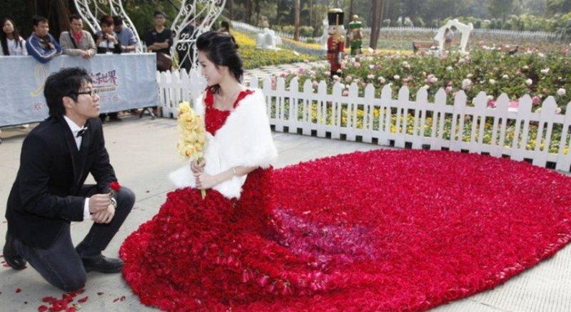 403f09e4bf7b4d9 Самая красивая свадьба в мире или миллион алых роз