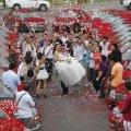 красивая свадьба в мире или миллион алых роз 13