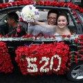 красивая свадьба в мире или миллион алых роз 14
