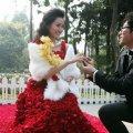 красивая свадьба в мире или миллион алых роз 8