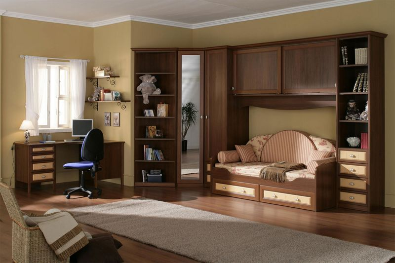 Современная мебель для детской комнаты