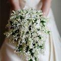 букет от мужчины в день свадьбы, неожиданный сюрприз любимой 1