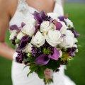 букет от мужчины в день свадьбы, неожиданный сюрприз любимой 11