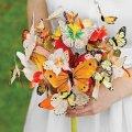 букет от мужчины в день свадьбы, неожиданный сюрприз любимой 14