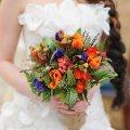 букет от мужчины в день свадьбы, неожиданный сюрприз любимой 18