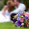 букет от мужчины в день свадьбы, неожиданный сюрприз любимой 6