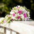 букет от мужчины в день свадьбы, неожиданный сюрприз любимой 8