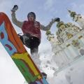 UKRAINE WEATHER SNOWFALL