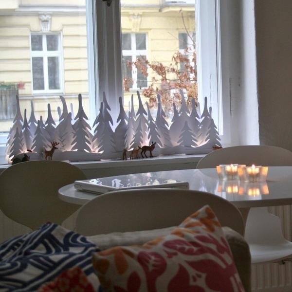 Способы украшения витрин к новому году