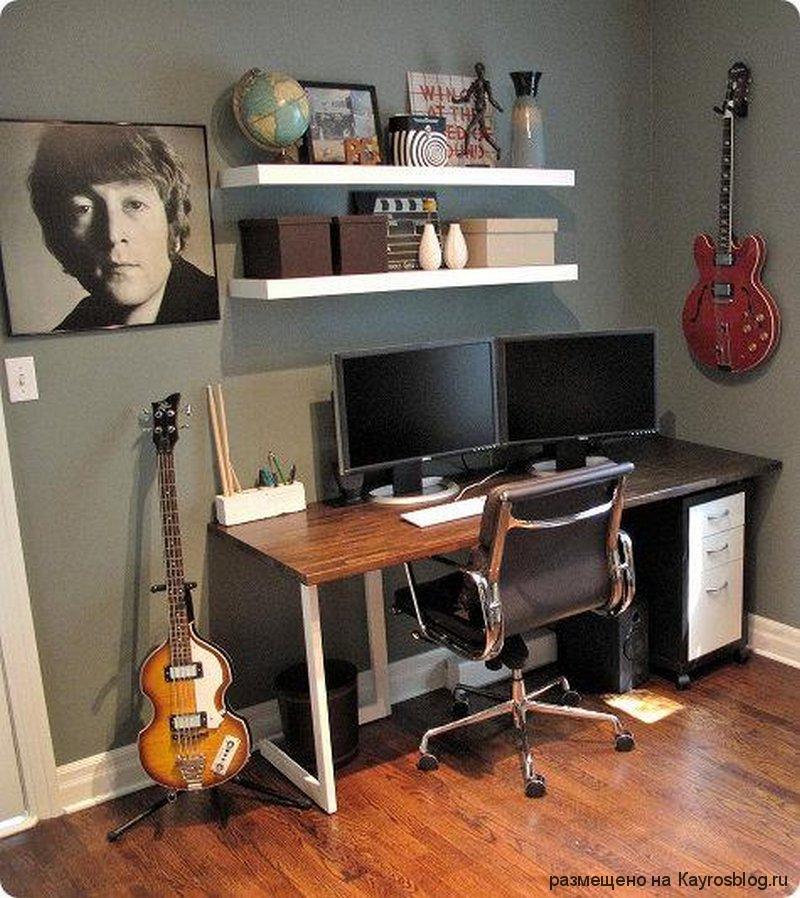 Комната для музыканта своими руками 890