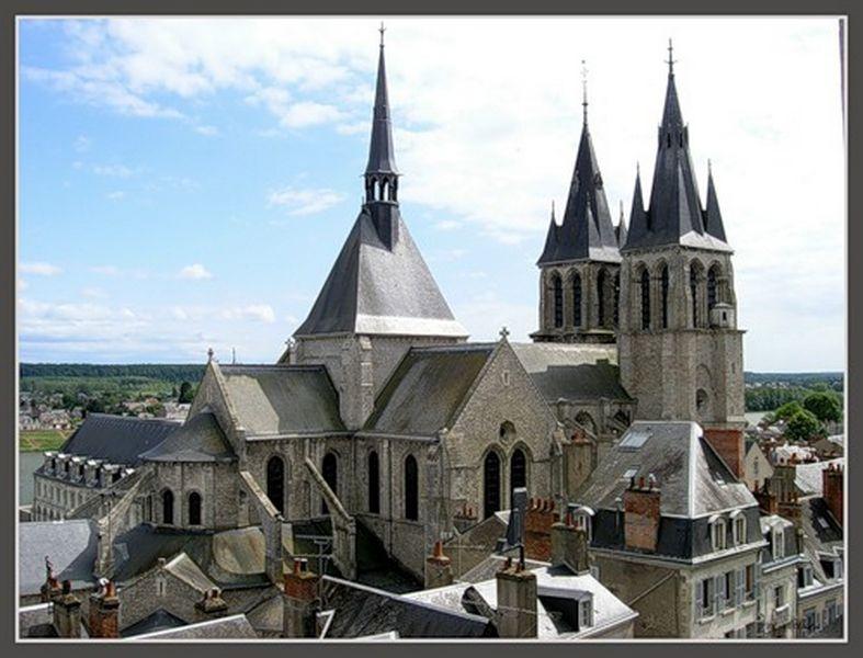 Блуа  - замки Франции 1