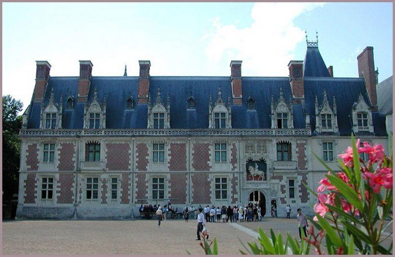 Блуа  - замки Франции 2