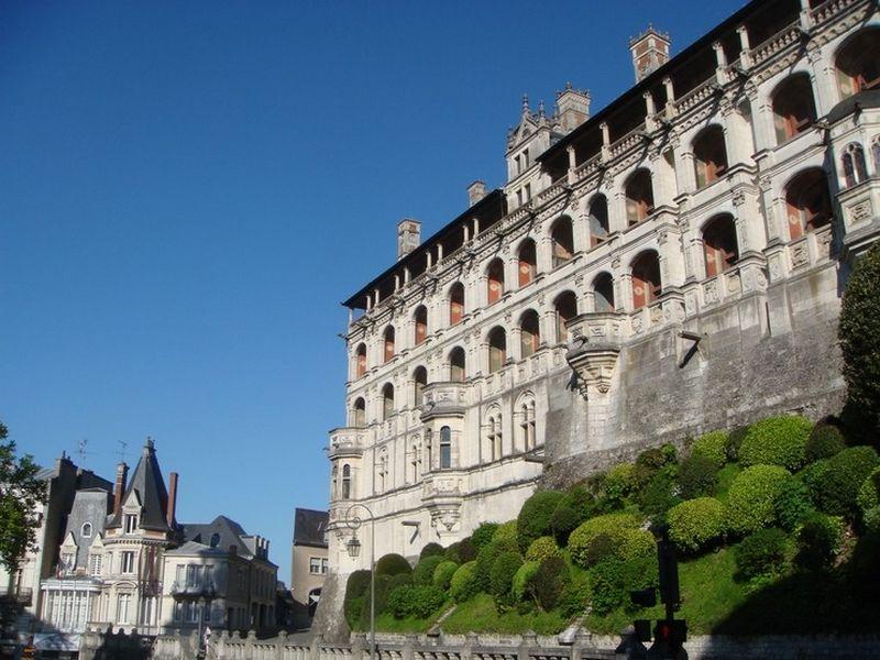 Блуа  - замки Франции 8
