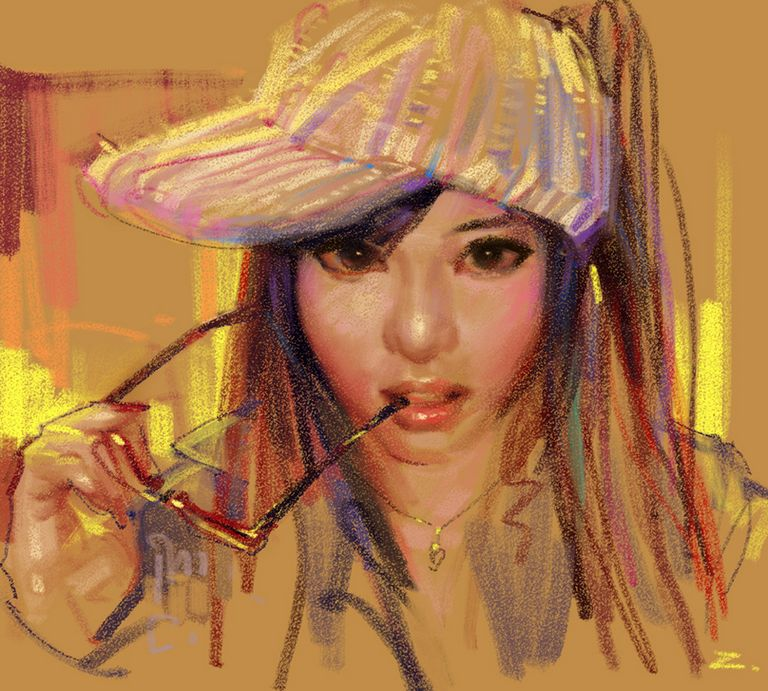 Китайский художник под ником zhuzhu