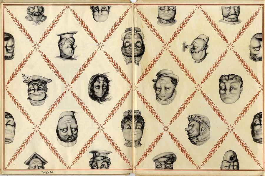 Оптические иллюзии художника Рекса Уистлера