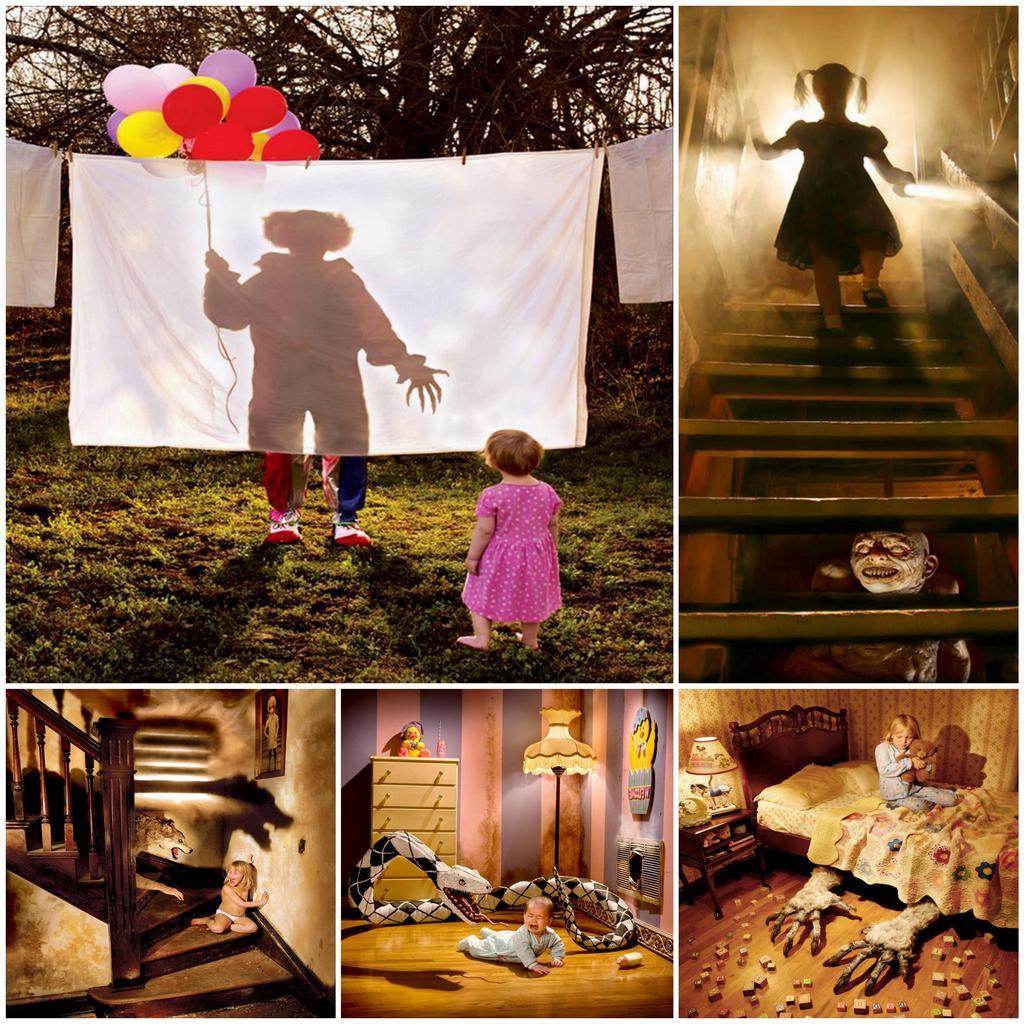 Фотопроект Childhood Fears (Детские страхи) от Joshua Hoffine