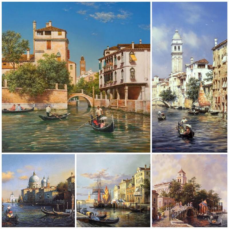 Художник Михаил Сатарова - пейзажи Венеции