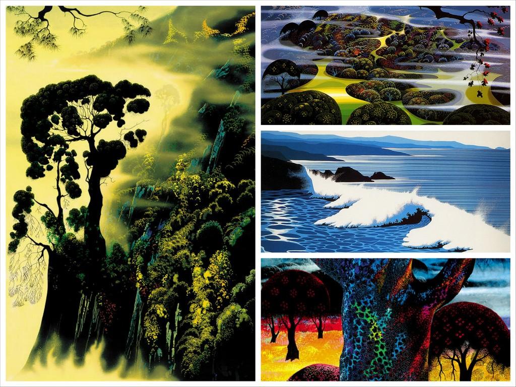 Известный американский художник Eyvind Earle