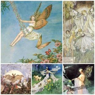 Викторианские волшебные картины. Живопись, посвященная феям