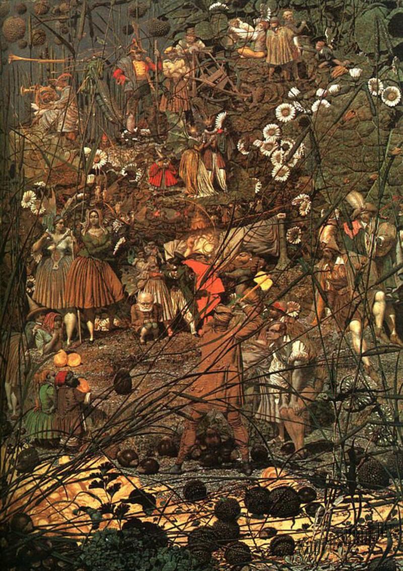 """""""The Fairy Feller's Master Strok"""" Richard Dadd, 1855-64"""