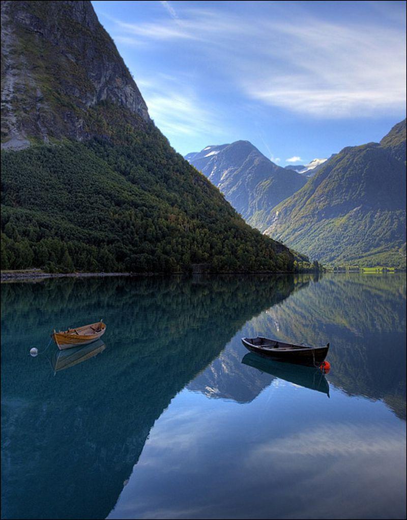 Норвегия в работах фотографа Maciej Duczynski