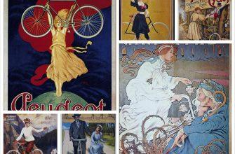 Винтажная реклама велосипедов